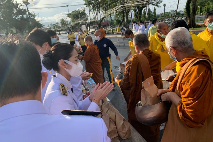 ม.บูรพา จันทบุรี ร่วมพิธีฯ วันเฉลิมพระชนมพรรษา รัชกาลที่ ๑๐