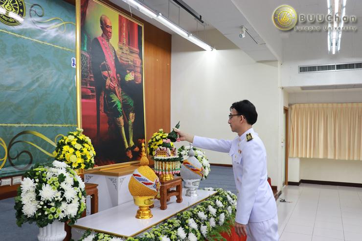 พิธีวางพานพุ่ม ถวายราชสักการะ พระบิดาแห่งวิทยาศาสตร์ไทย