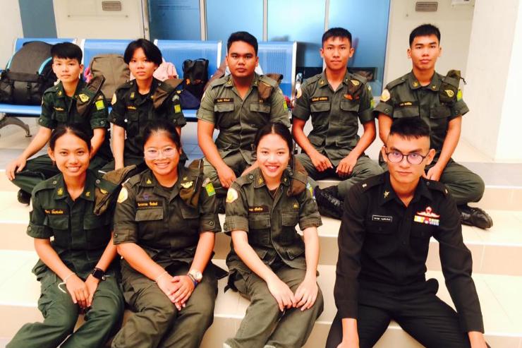 การขอผ่อนผันการเข้ารับราชการทหาร ปีการศึกษา 2563
